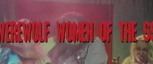 Grindhouse Werewolf Women of the SS